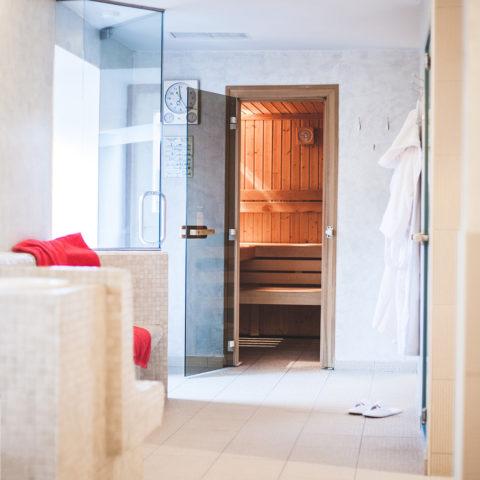 Sauna und Dampfbad im Weitgasser